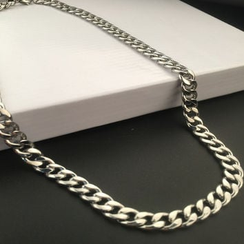 New Arrival Shiny Stylish Jewelry Gift Hot Sale Fashion Hip-hop Club Necklace [6542773059]