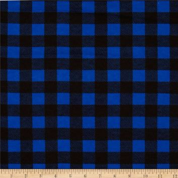 Flannel Buffalo Plaid Blue/Black