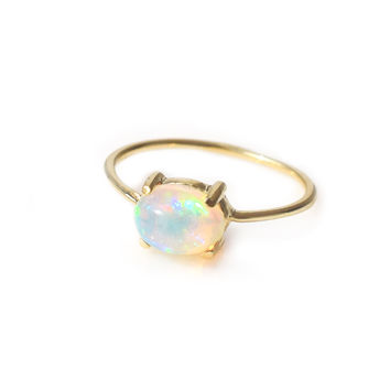 14kt Gold Opal Venezzia Ring