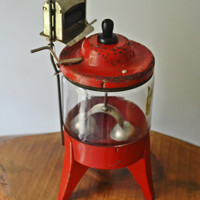 New Price - Toy Washing Machine, Vintage Toy Washer, Modern Miss Ringer Washer, Toy Washing Machine, CG Wood Co, Made In USA