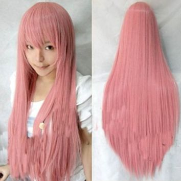 Womens Fashion new Long Straight full hair wigs cosplay Costume Party 9 colors