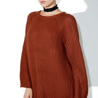 Bourne Lace-Up Sweater