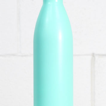 S'well Bottle: Turquoise Blue Satin Finish {25 oz}