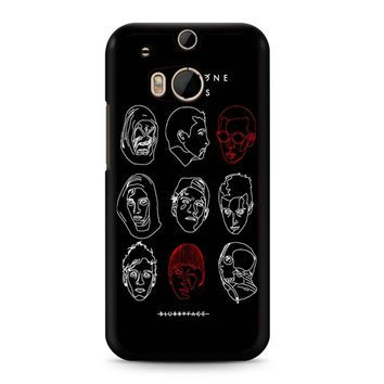 Poster For Twenty One Pilots HTC M8 Case