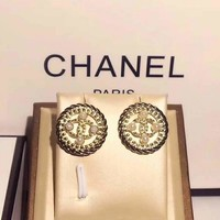 Chanel fashion  Logo earrings for cartilage hoop