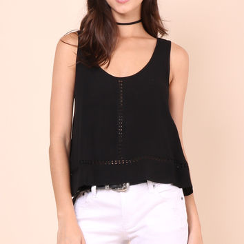 Gab & Kate Love Always Top - Black