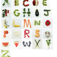 "CIJ SALE CIJ, ChristmasInJuly, Custom Alphabet Art, ""Eat Fresh Daily"" Print,  Photographic letters, New Home, Fresh"