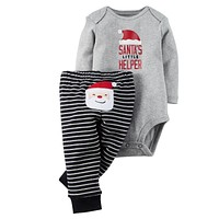 Baby Boy Clothing Sets Christmas Baby Boy Clothes Newborn Baby Clothes Infant Jumpsuits