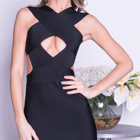 OLSON BANDAGE DRESS  -2 COLORS