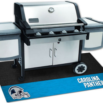 Carolina Panthers Grill Mat