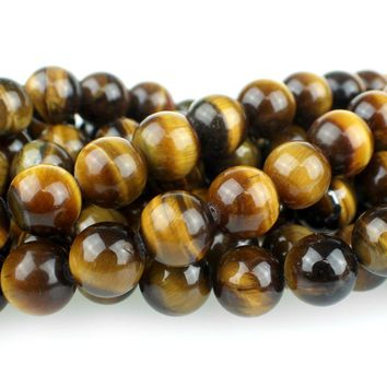 Tiger Eye Rounds 8""