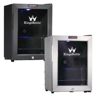 Kingsbottle 21-Can Compressor Mini Bar Fridge