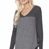 LONG SLEEVE V NECK THERMAL