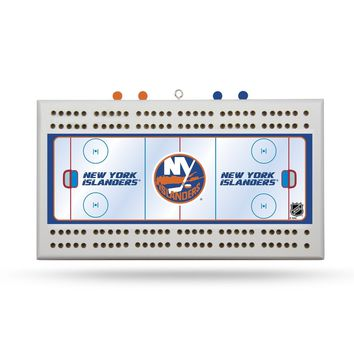 NEW YORK ISLANDERS FIELD CRIBBAGE BOARD