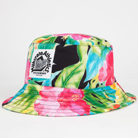 Milkcrate Athletics Floral Print Mens Bucket Hat Multi One Size For Men 26055495701