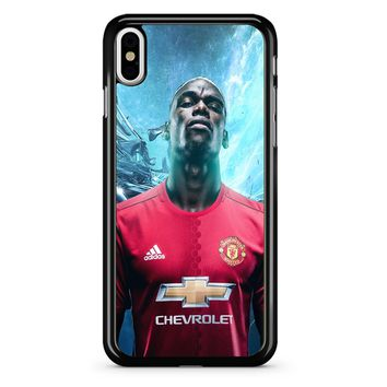 Paul Pogba Manchester United iPhone X Case