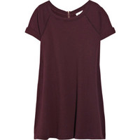 Vanessa Bruno Athé Short-Sleeved Cotton Sweater Dress
