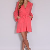 Perfection Dress - Coral