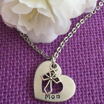 Mom Necklace - Mother's Day Gift - Mom Jewelry - Mother's Necklace - Mother's Jewelry - Mother's Day Jewelry - Mom - Grandma