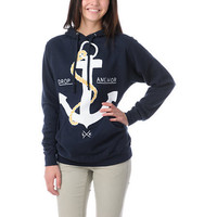 Glamour Kills Drop & Anchor Navy Pullover Hoodie at Zumiez : PDP