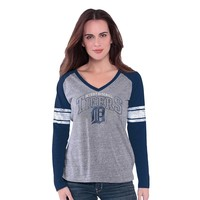 Detroit Tigers The Franchise Raglan Tee - Women's, Size: