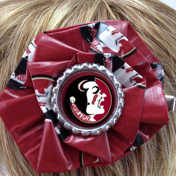FSU Florida State University Seminoles Duct Tape by PyrateWench