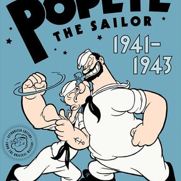 Popeye the Sailor Man 11x17 Movie Poster (1934)