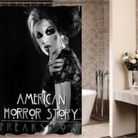 "american horror story Custom Shower curtain,Sizes available size 36""w x 72""h 48""w x 72""h 60""w x 72""h 66""w x 72""h"