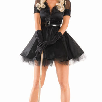 Plus Size Bewitching Pin-Up Witch Costume
