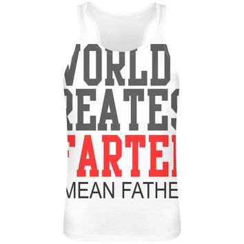 Men's 'World's Greatest Farter I Mean Father' Tank Top