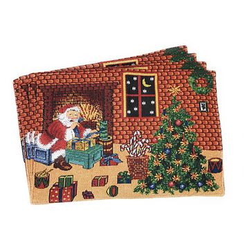 Tache Festive Last Minute Preparations Tapestry Placemats (DB11869PM-1319)