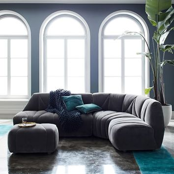 Vince Tufted Sectional