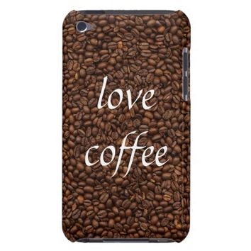 Love Coffee - Pile of Beans iPod Touch 4G Case