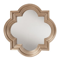 The Gatsby Wall Mirror With Platinum Gold Frame | Overstock.com Shopping - The Best Deals on Mirrors