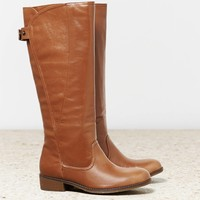 AEO Women's Wrapped Riding Boot (Cognac)