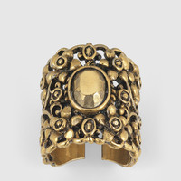 Gucci - ring in metal with aged gold finish 417420I46008277