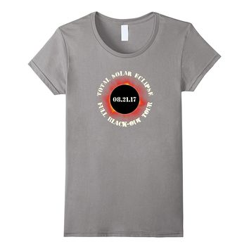 """SEE BACK - """"CONCERT"""" Solar Eclipse Shirt w/ Tour Cities!"""