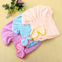 Magic Quick Dry Bath Hair Drying Towel Turban Head Wrap