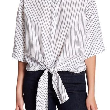 Lush | Tie Front Blouse | Nordstrom Rack