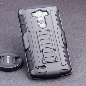 Case For LG G2 G3 G4 G5 Stylus Mini K7 V10 Nexus 4 5 6 Leon Spirit C40 C70 Armor Holster Shockproof Hard Cell Phone Cases Cover