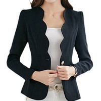 IMC Autumn casual jackets women slim short design suit jackets office women coat clothing