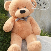 [100cm 3 Colors] Giant Large Size Teddy Bear Plush Toys Stuffed Toy Lowest Price Birthday gifts Christmas P209