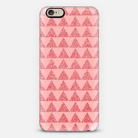 peach sparkle geo iPhone 6 case by Sandra Arduini | Casetify