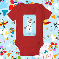 Frozen Olaf - baby shirt Onesuit, Frozen Olaf shirt Onesuit, Frozen Olaf baby Onesuit , Baby Clothing, baby gift Onesuit