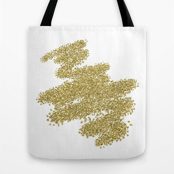 Gold Tote Bag - Book Bags for Girls - Girls Tote Bag - Market Bag - Book Bag - Market Tote - Gift Ideas for Friends - Gift Ideas for Women