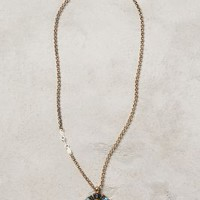 Dayspring Necklace by Anthropologie Blue Motif One Size Necklaces
