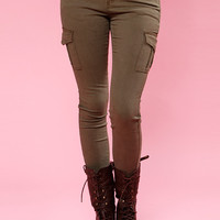 Papaya Clothing Online :: CARGO SKINNY PANTS