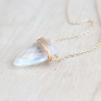 Finn Necklace - As Seen on Candice Accola / The Vampire Diaries