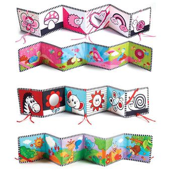 Multi-function baby bed cloth book baby bed around Educational toys Cognitive cloth book Bedding, toys GD-191