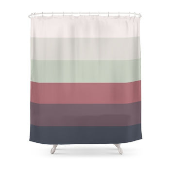 Society6 Faded Audrey Ombre Shower Curtain